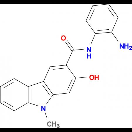 2-HYDROXY-9-METHYL-9H-CARBAZOLE-3-CARBOXYLIC ACID (2-AMINO-PHENYL)-AMIDE