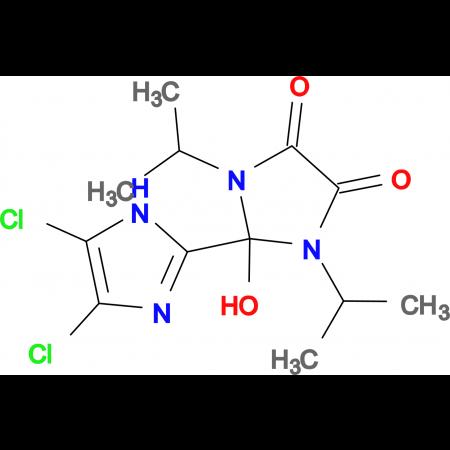 4',5'-DICHLORO-2-HYDROXY-1,3-DIISOPROPYL-2,3-DIHYDRO-1H,1'H-[2,2']BIIMIDAZOLYL-4,5-DIONE