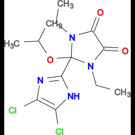 4',5'-DICHLORO-1,3-DIETHYL-2-ISOPROPOXY-2,3-DIHYDRO-1H,1'H-[2,2']BIIMIDAZOLYL-4,5-DIONE