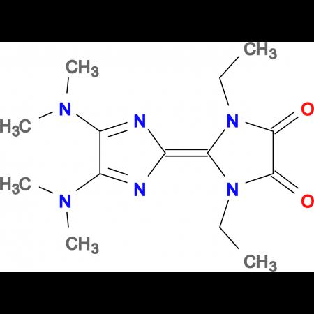 4',5'-BIS-DIMETHYLAMINO-1,3-DIETHYL-[2,2']BIIMIDAZOLYLIDENE-4,5-DIONE