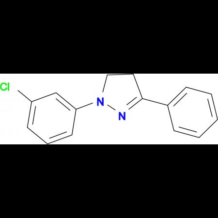 1-(3-Chloro-phenyl)-3-phenyl-4,5-dihydro-1H-pyrazole