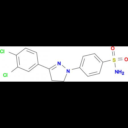 4-[3-(3,4-Dichloro-phenyl)-4,5-dihydro-pyrazol-1-yl]-benzenesulfonamide