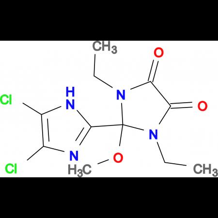 4',5'-Dichloro-1,3-diethyl-2-methoxy-2,3-dihydro-1H,1'H-[2,2']biimidazolyl-4,5-dione
