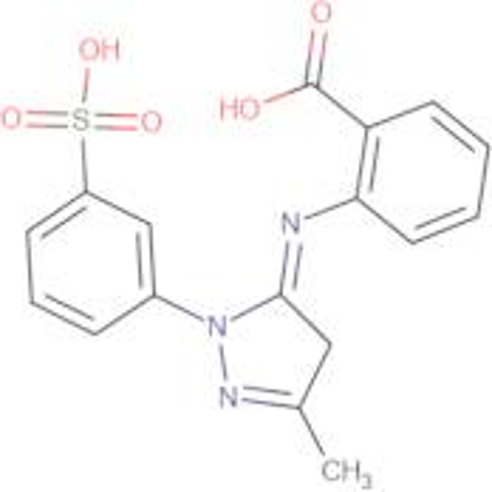 2-[5-Methyl-2-(3-sulfo-phenyl)-2,4-dihydro-pyrazol-3-ylideneamino]-benzoic acid