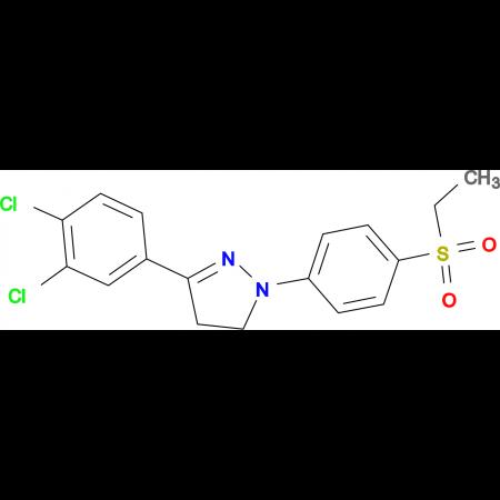 3-(3,4-Dichloro-phenyl)-1-(4-ethanesulfonyl-phenyl)-4,5-dihydro-1H-pyrazole