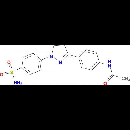 N-{4-[1-(4-Sulfamoyl-phenyl)-4,5-dihydro-1H-pyrazol-3-yl]-phenyl}-acetamide
