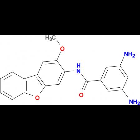 3,5-Diamino-N-(2-methoxy-dibenzofuran-3-yl)-benzamide