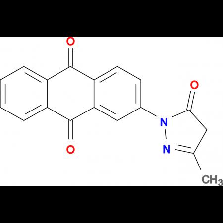 2-(3-Methyl-5-oxo-4,5-dihydro-pyrazol-1-yl)-anthraquinone