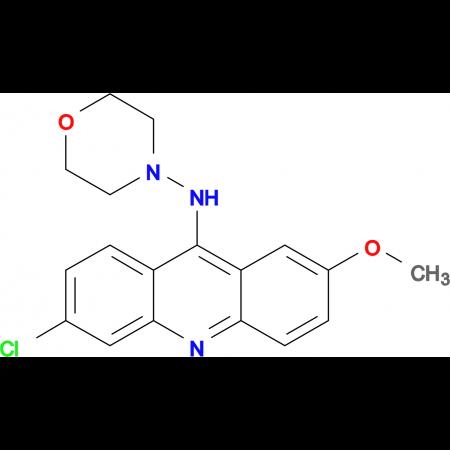 (6-Chloro-2-methoxy-acridin-9-yl)-morpholin-4-yl-amine