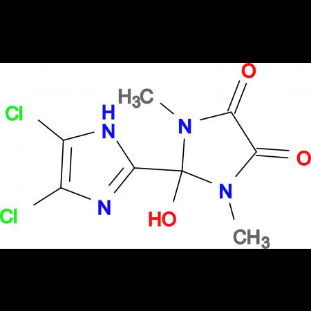 4',5'-Dichloro-2-hydroxy-1,3-dimethyl-2,3-dihydro-1H,1'H-[2,2']biimidazolyl-4,5-dione