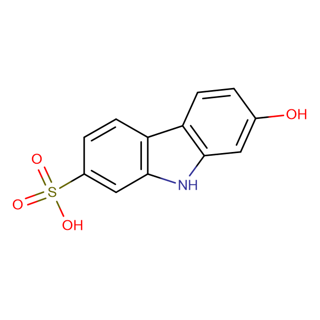 7-Hydroxy-9H-carbazole-2-sulfonic acid