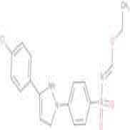 4-[3-(4-Chloro-phenyl)-2,5-dihydro-pyrazol-1-yl]-N-ethoxymethylene-benzenesulfonamide