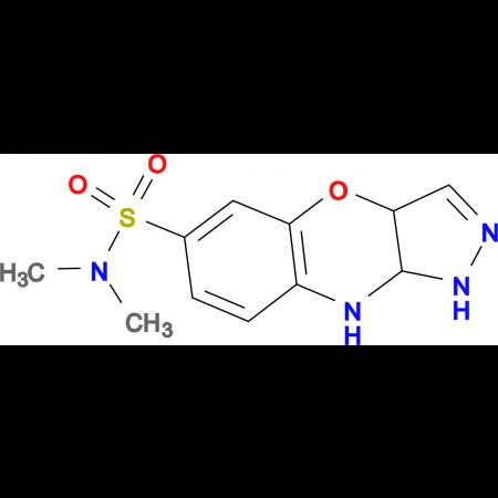 1,3a,9,9a-Tetrahydro-4-oxa-1,2,9-triaza-cyclopenta[b]naphthalene-6-sulfonic acid dimethylamide