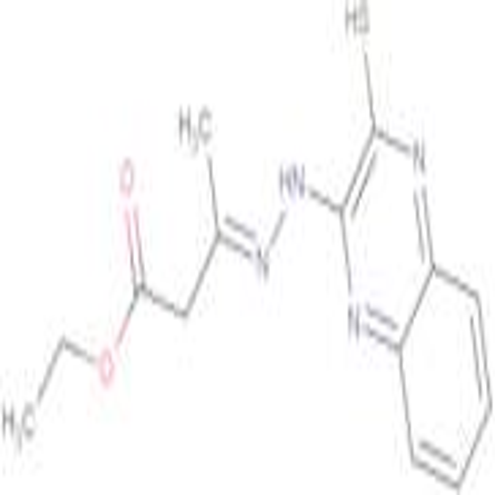 3-[(3-Mercapto-quinoxalin-2-yl)-hydrazono]-butyric acid ethyl ester; cis-trans mixture