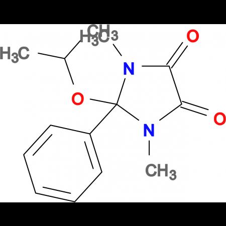 2-Isopropoxy-1,3-dimethyl-2-phenyl-imidazolidine-4,5-dione