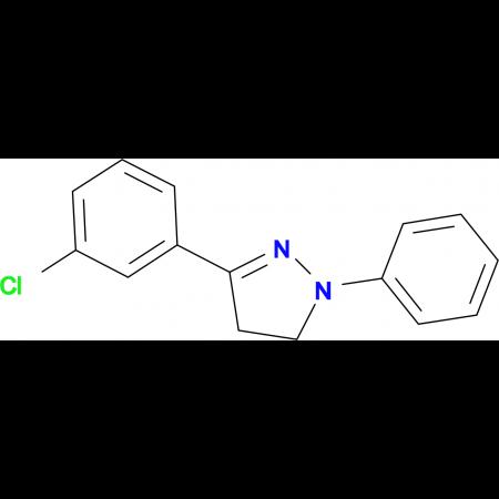 3-(3-Chloro-phenyl)-1-phenyl-4,5-dihydro-1H-pyrazole