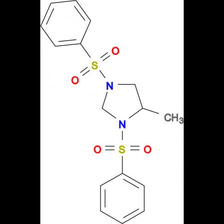 1,3-Bis-benzenesulfonyl-4-methyl-imidazolidine