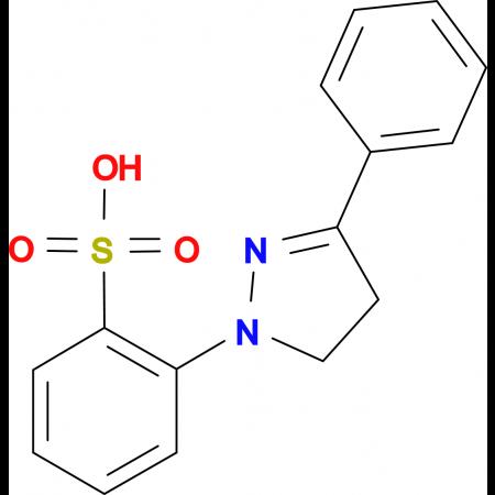 2-(3-Phenyl-4,5-dihydro-pyrazol-1-yl)-benzenesulfonic acid