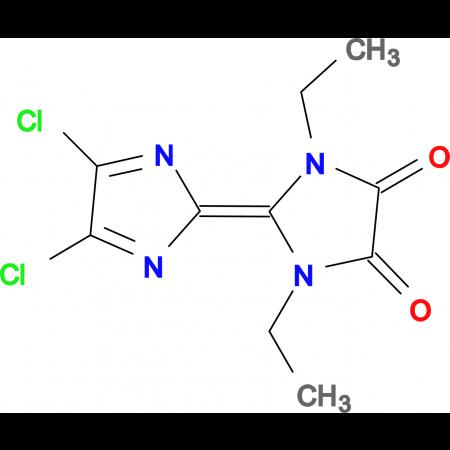 4',5'-Dichloro-1,3-diethyl-[2,2']biimidazolylidene-4,5-dione