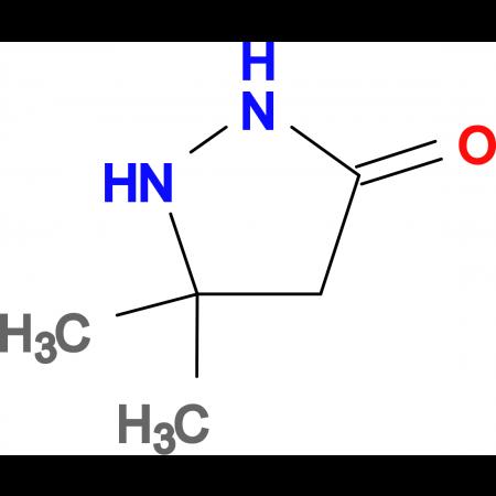 5,5-Dimethyl-pyrazolidin-3-one