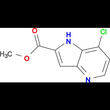 7-Chloro-1H-pyrrolo[3,2-b]pyridine-2-carboxylic acid methyl ester