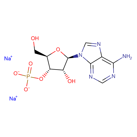 Adenosine-3'-monophosphate sodium salt