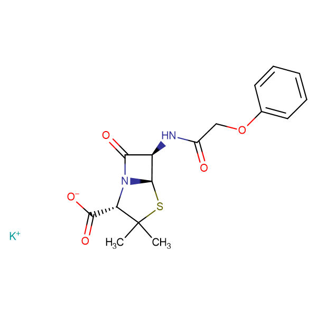 Phenoxymethylpenicillinic acid potassium salt