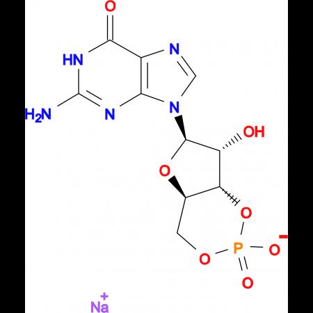Guanosine-3':5'-cyclic monophosphate monosodium salt