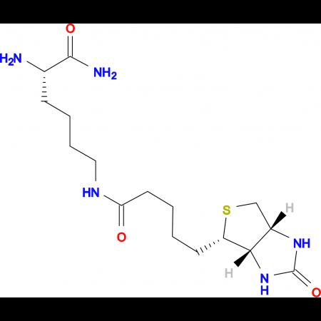 Ne-Biotinyl-L-lysine amide