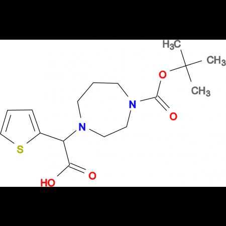 1-Boc-4-(carboxythiophen-2-yl-methyl)-[1,4]diazepane
