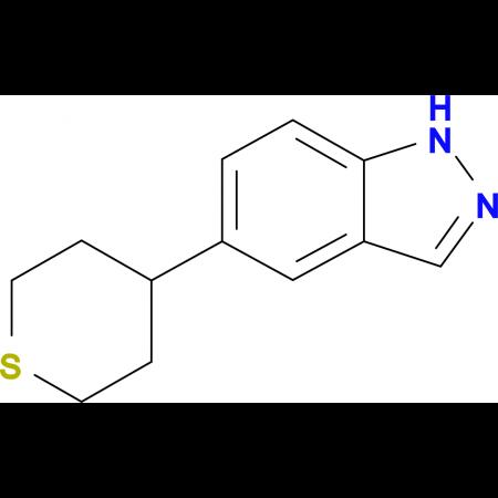 5-(Tetrahydrothiopyran-4-yl)-1H-indazole