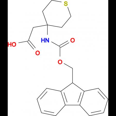 (4-Fmoc-amino-tetrahydrothiopyran-4-yl)acetic acid