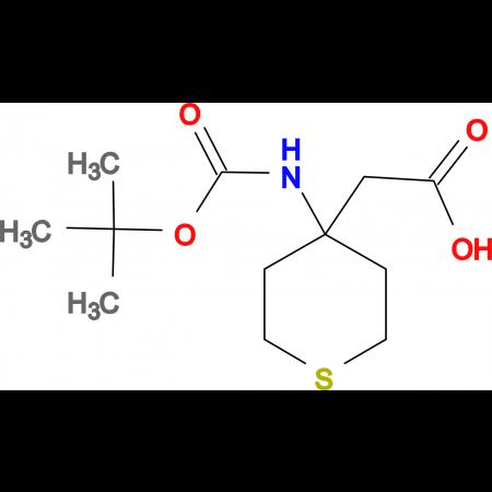 (4-Boc-amino-tetrahydrothiopyran-4-yl)acetic acid