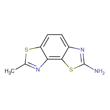 7-Methyl-benzo[1,2-d;3,4-d']bisthiazol-2-ylamine