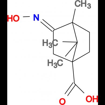 3-[(E)-Hydroxyimino]-4,7,7-trimethyl-bicyclo[2.2.1]heptane-1-carboxylic acid