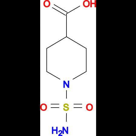 1-sulfamoylpiperidine-4-carboxylic acid