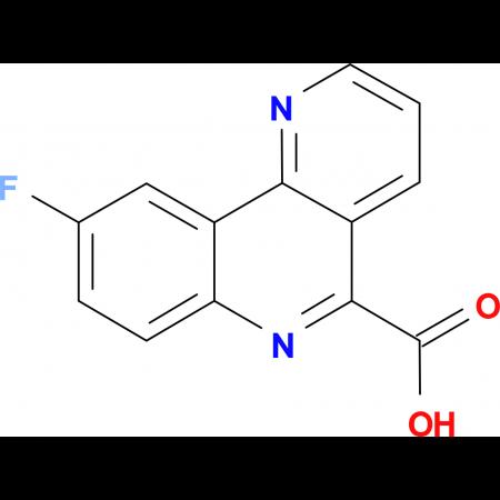 9-Fluorobenzo[h]-1,6-naphthyridine-5-carboxylic acid