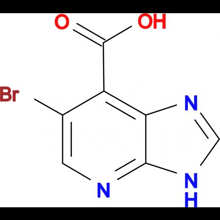 6-Bromo-3H-imidazo[4,5-b]pyridine-7-carboxylic acid