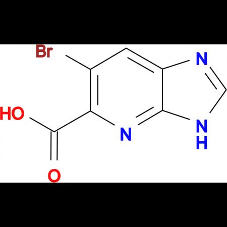 6-Bromo-3H-imidazo[4,5-b]pyridine-5-carboxylic acid
