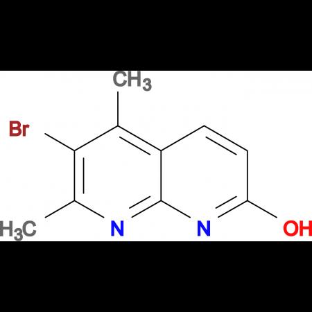 6-Bromo-5,7-dimethyl-1,8-naphthyridin-2-ol