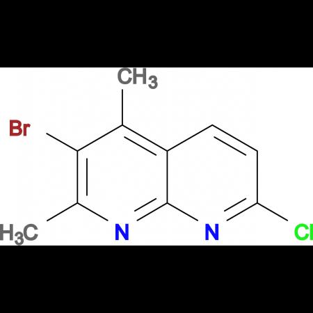 3-Bromo-7-chloro-2,4-dimethyl-1,8-naphthyridine