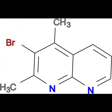 3-Bromo-2,4-dimethyl-1,8-naphthyridine
