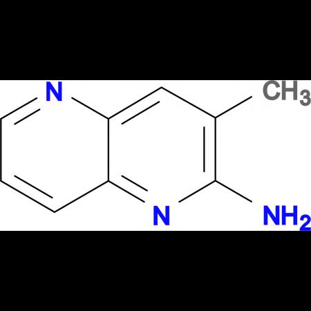 3-Methyl-1,5-naphthyridin-2-amine