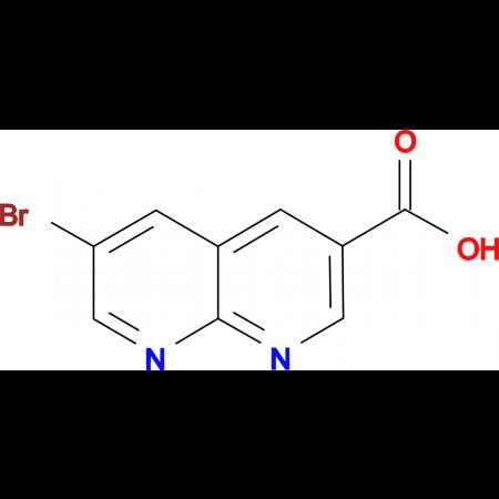 6-bromo-1,8-naphthyridine-3-carboxylic acid