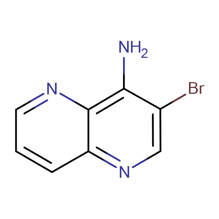 3-bromo-1,5-naphthyridin-4-amine