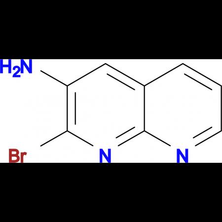 2-bromo-1,8-naphthyridin-3-amine