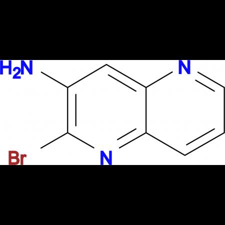 2-bromo-1,5-naphthyridin-3-amine