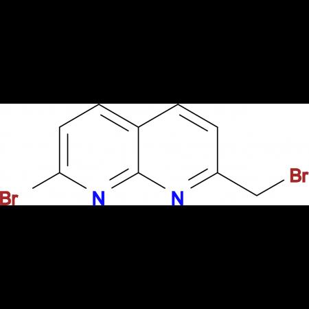 2-bromo-7-(bromomethyl)-1,8-naphthyridine
