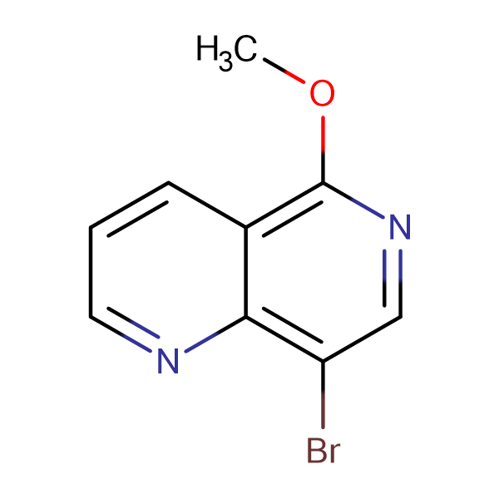 8-bromo-5-methoxy-1,6-naphthyridine
