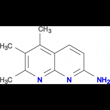 5,6,7-trimethyl-1,8-naphthyridin-2-amine